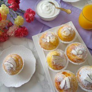 Muffiny z mango