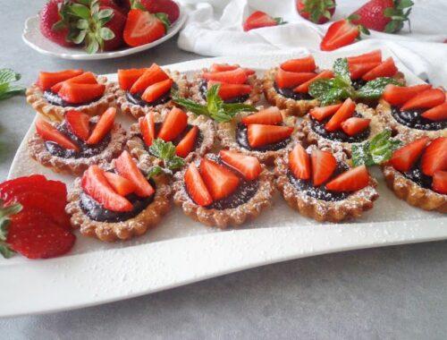 Tartaletki z kremem czekoladowym
