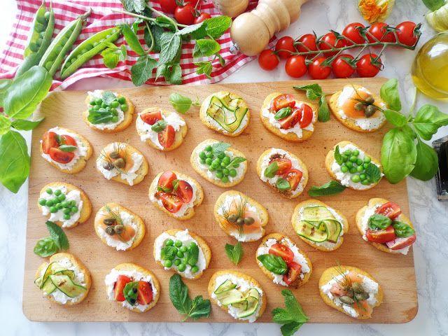 Włoskie bruschette na 4 sposoby
