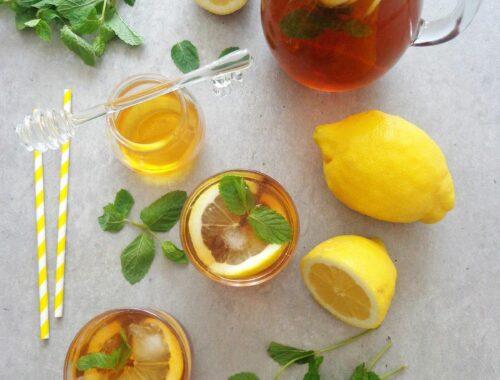 Cytrynowa ice tea