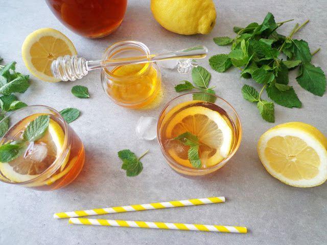 Herbata mrożona cytrynowa