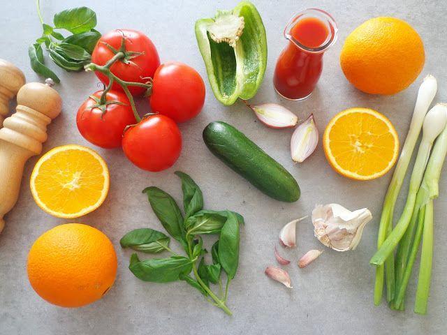 Przepis na letnie gazpacho