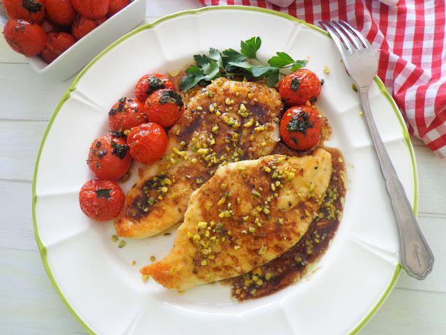 Filet z kurczaka w sosie balsamicznym
