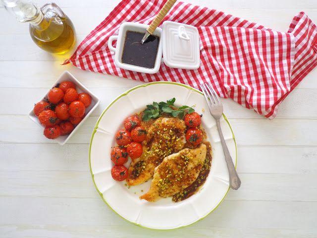Przepis na filet z kurczaka w sosie balsamicznym