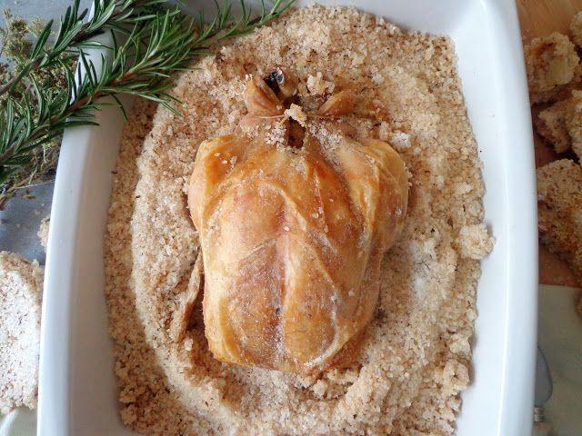 Przepis na pieczonego kurczaka