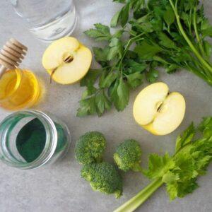 Zielony koktajl pełen witamin