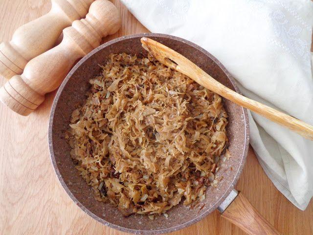 Farsz z kapusty kiszonej i grzybów