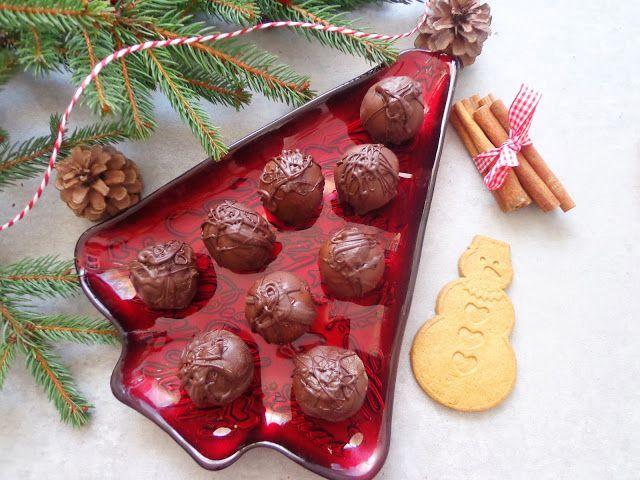 Przepis na czekoladki marcepanowe