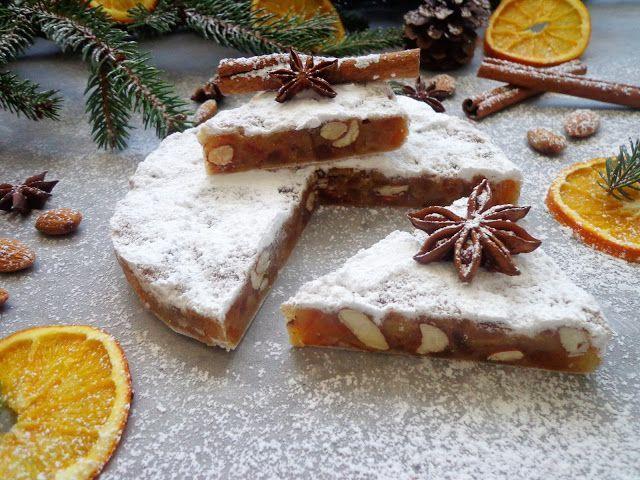 Panforte świąteczne ciasto z Sieny