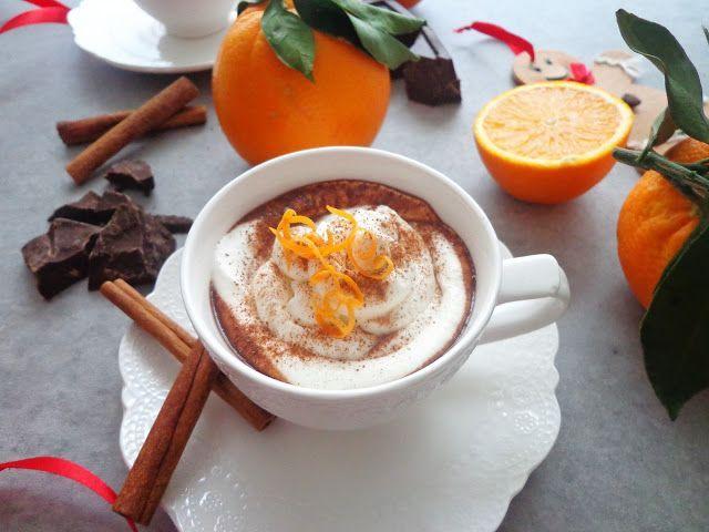 Gorąca czekolada pomarańczowa