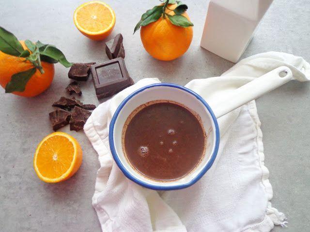 Gorąca czekolada z pomarańczami