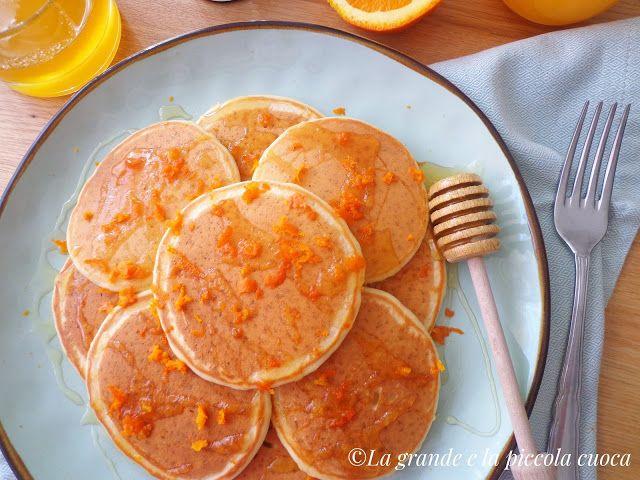 Pomarańczowe placuszki