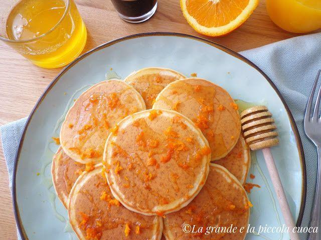 Przepis na pomarańczowe pancake