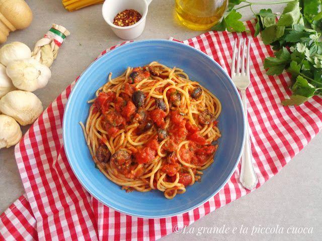 Przepis na włoski makaron puttanesca