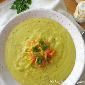 Zupa krem porowo-ziemniaczana