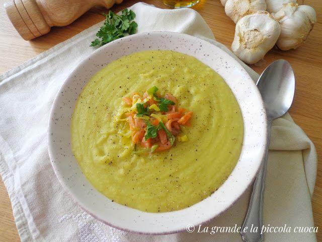 Zupa z porem i ziemniakami