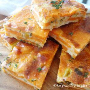 Pieczona frittata z batatami