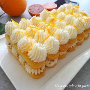 Pomarańczowe tiramisu