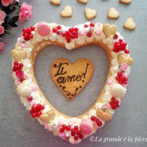 Torcik Walentynkowy serce