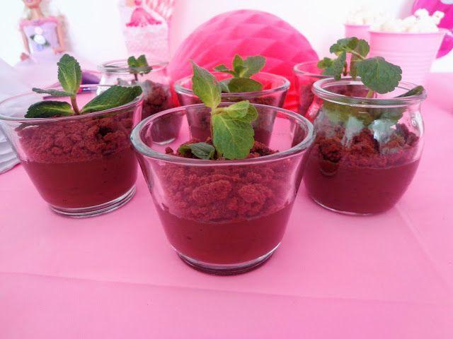 Budyń czekoladowy roślinka