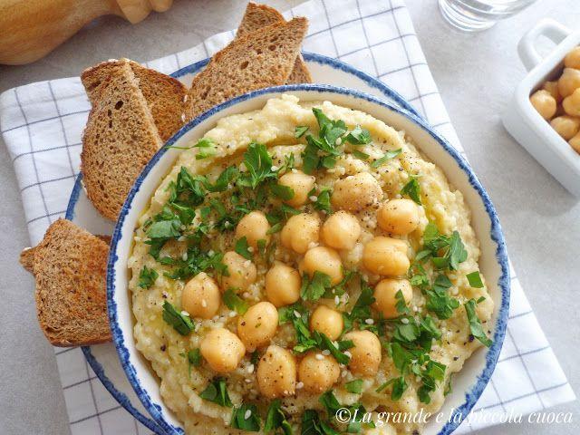 Hummus z topinamburem
