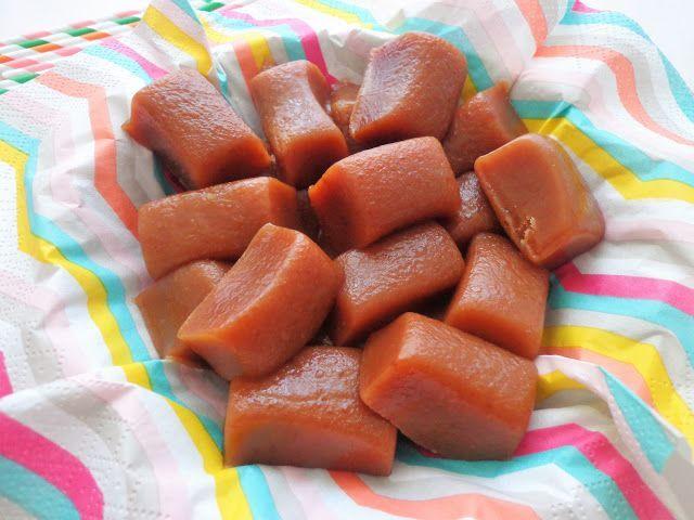 Karmelowe krówki ciągutki