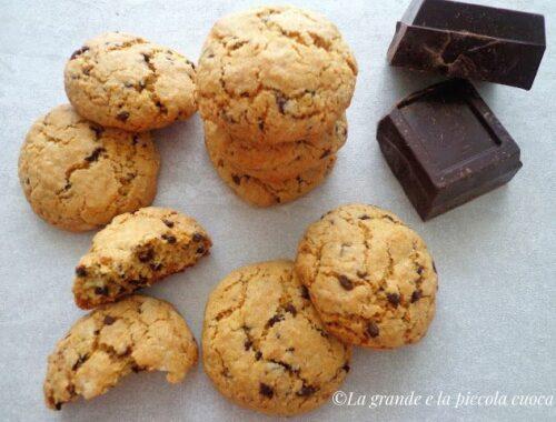 Maślane ciasteczka z czekolada