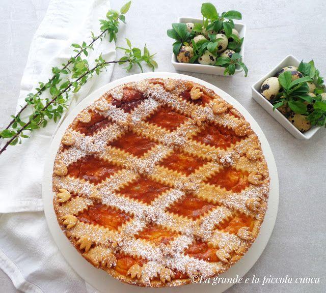 Pastiera włoskie ciasto wielkanocne