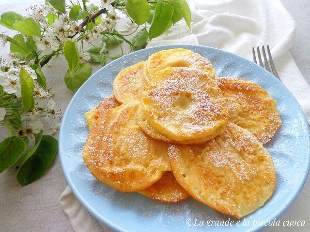 Pieczone placuszki z jabłkiem