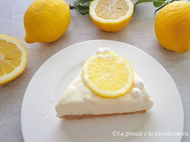 Cytrynowy sernik na zimno