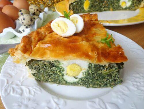 Torta Pasqualina włoski wypiek wielkanocny