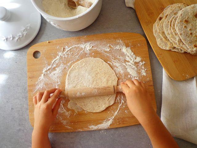 Przepis na domowe tortille