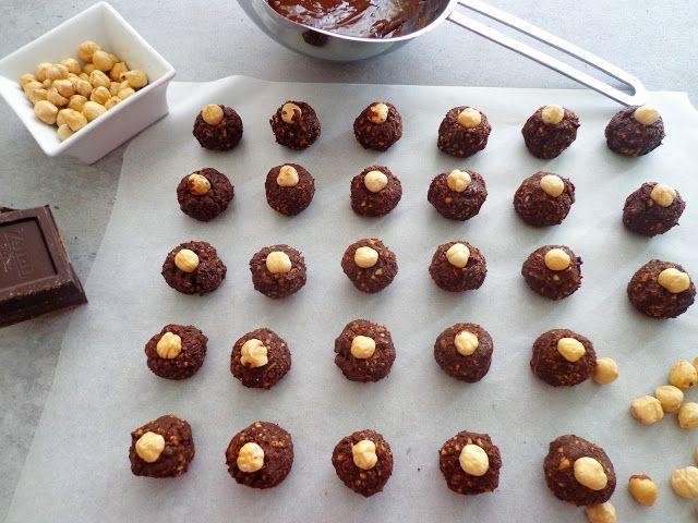 Baci czekoladki z orzechami