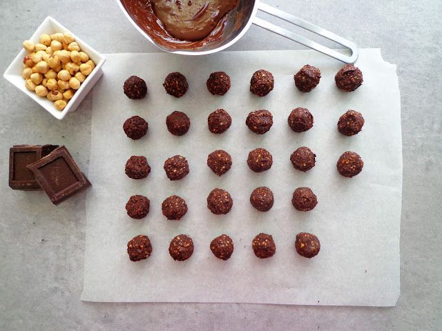 Pralinki orzechowo-czekoladowe