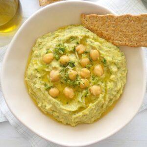 Hummus z cukinią