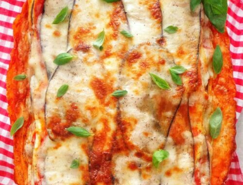 "Lasagne ""parmigiana"" z bakłażanem"