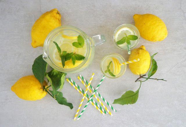Przepis na cytrynowa lemoniade
