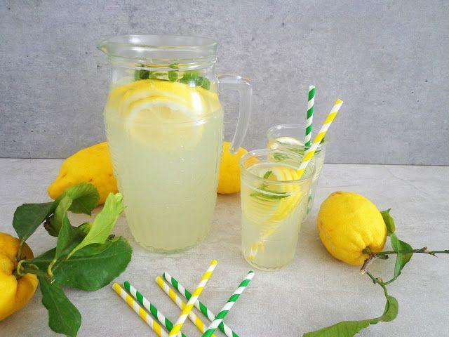 Lemoniada z cytryny i limonki