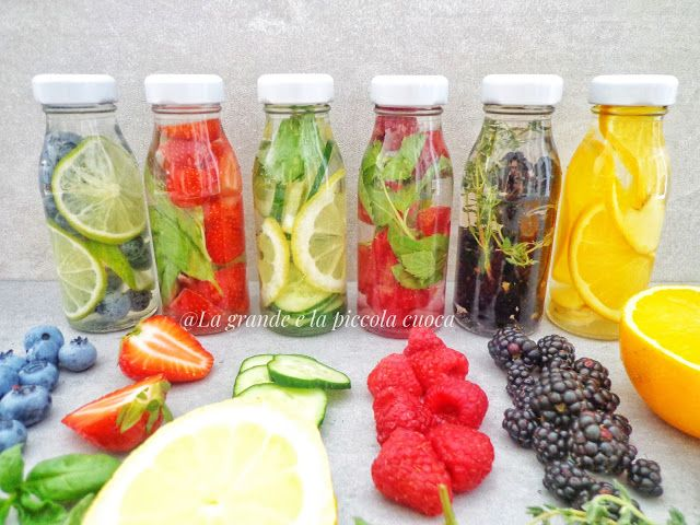 Przepisy na letnie wody smakowe