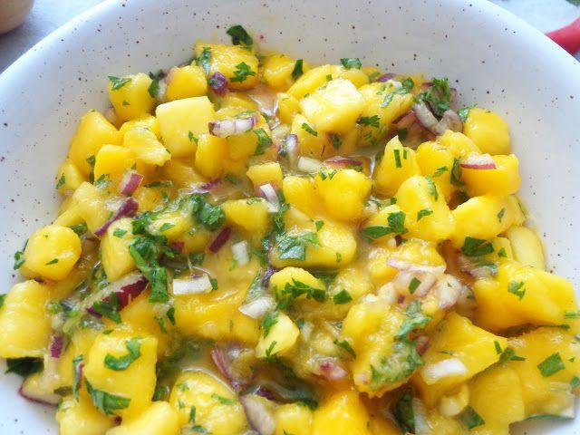 Przepis na salsa z mango