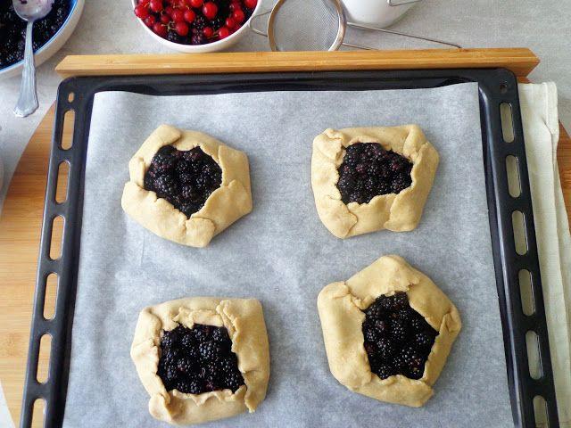 Owocowe tarty galette