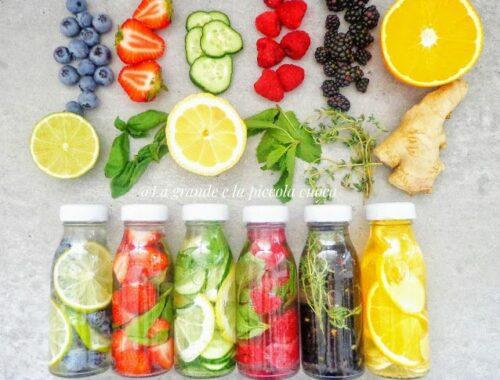 Wody smakowe 6 przepisów