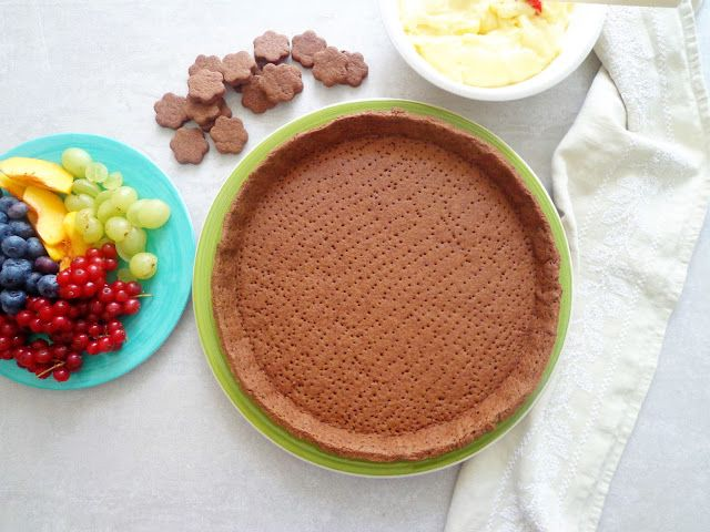 Ciasto kruche z kakao