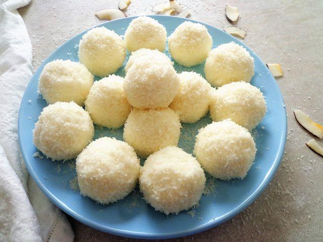 Przepis na kokosowe praliny