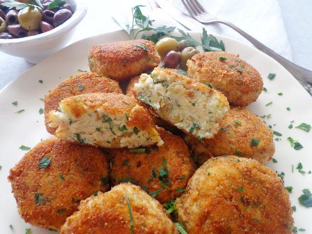 Kotleciki rybne z dorsza z oliwkami