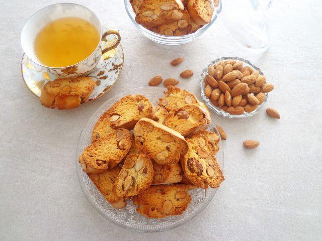 Włoskie ciasteczka z migdałami