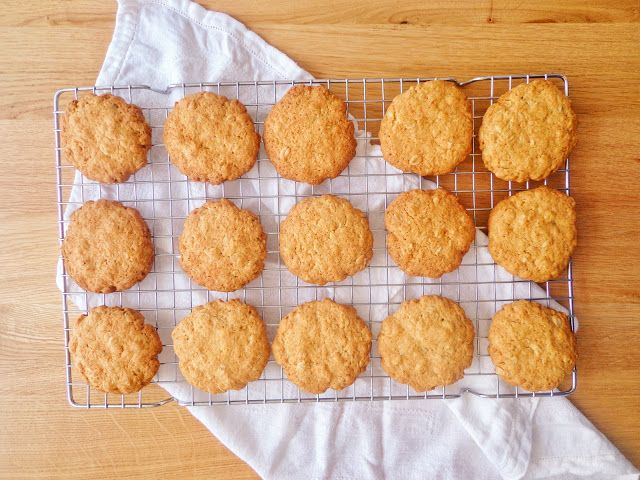 Przepis na owsiane ciasteczka kokosowe