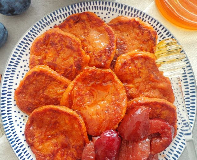 Przepis na placuszki ze słodkich ziemniaków