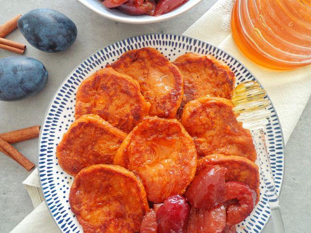 Placuszki ze słodkich ziemniaków
