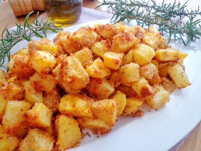 Przepis na ziemniaki w panierce